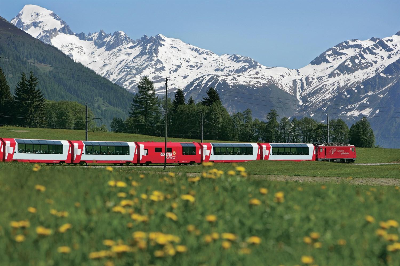 The Panoramic Trains of Switzerland